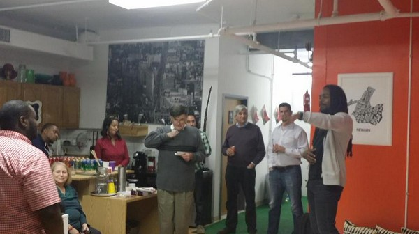 Photo: A BrickCity Tech Meetup at =SPACE. Photo Credit: =SPACE via Twitter