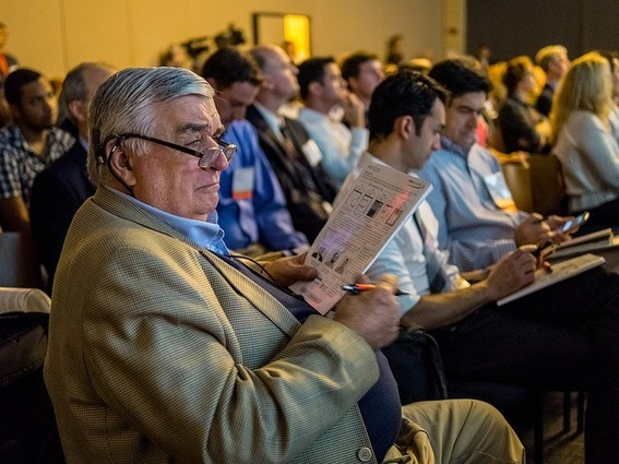 Photo: A scene from last year's Demo Day Photo Credit: Courtesy TechLaunch