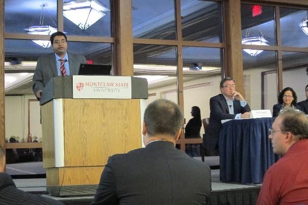 Photo: Arpan Dasgupta, vice president of global consulting for Fractal Analytics (Jersey City) Photo Credit: John Critelli