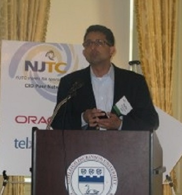 Photo: Ashis Bhisey of Data Inc. Photo Credit: NJTC