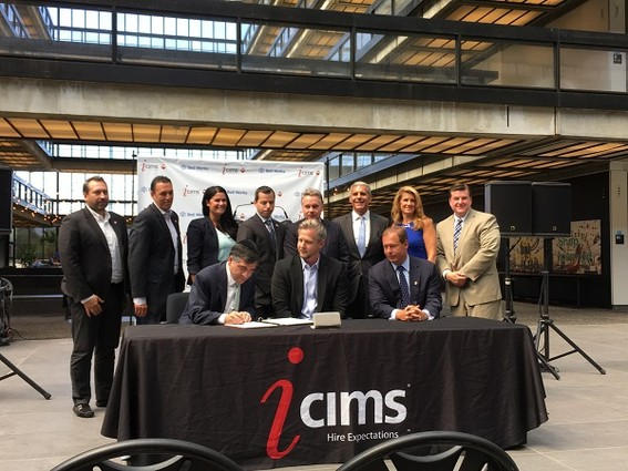 Photo: iCIMS signs its lease with Bell Works and is planning to move in next year. Photo Credit: Esther Surden