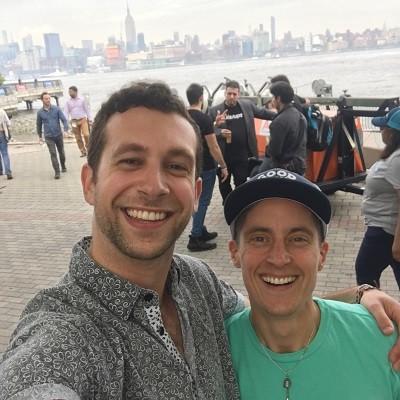 Photo: Ben Yurcisin, Founder, FunFinders with Dillan DiGiovanni Photo Credit: Courtesy Dillan DiGiovanni