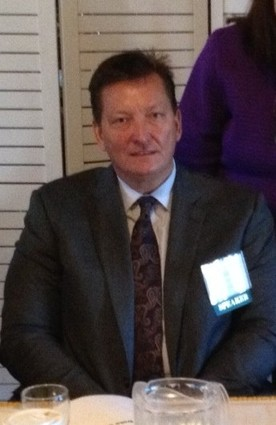 Photo: MD On-Line's CEO Bill Bartzak was a panelist at a NJTC big data meeting in late 2013. Photo Credit: Courtesy NJTC