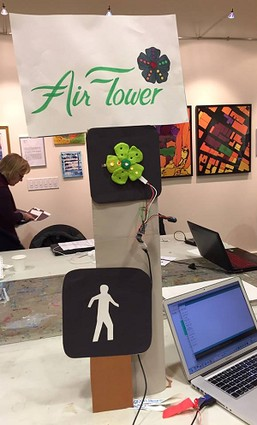 Photo: Air Flower's art Photo Credit: Code for Princeton
