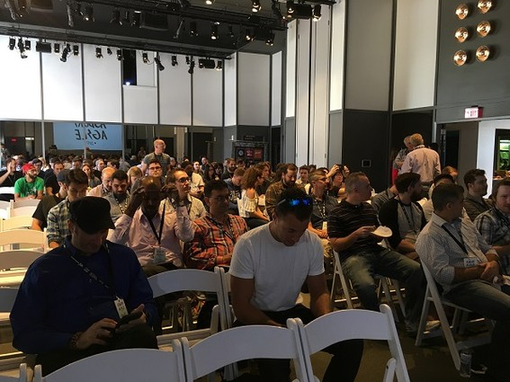 Photo: Crowd at Asbury Agile 2017 Photo Credit: Esther Surden