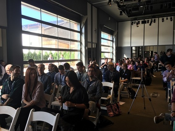 Photo: The crowd at Asbury Agile 2016 Photo Credit: Esther Surden