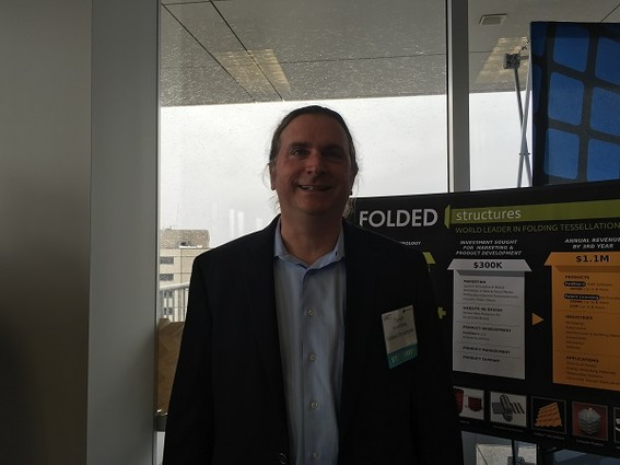 Photo: Daniel Kling of Folded Structures Photo Credit: Esther Surden