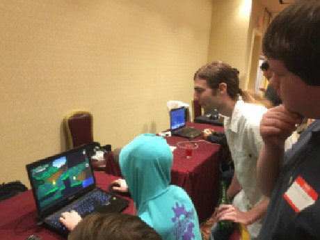 Photo: The event gave independent developers in the Northeast a way to  to get the word out about themselves and their companies. Photo Credit: Gamecon.com website