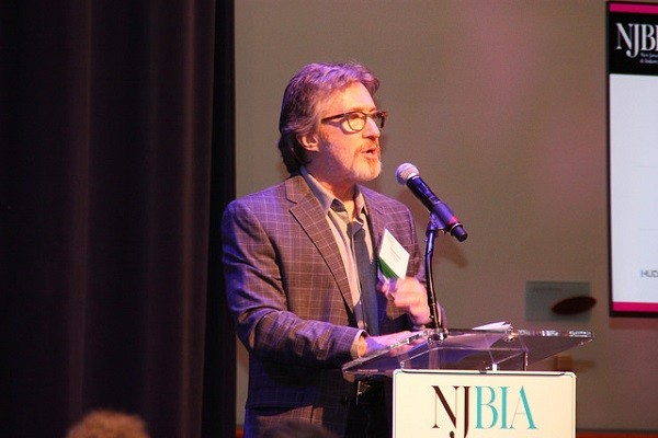 Photo: Don Katz spoke at the NJBIA event on urban revitalization. Photo Credit: NJBIA