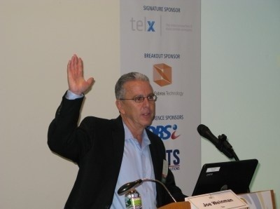 Photo: Eric Shepcaro, CEO of Telx spoke at the NJTC data center summit. Photo Credit: NJTC