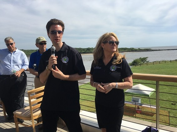 Photo: Representatives from the FAA supported the drone effort. Photo Credit: Esther Surden