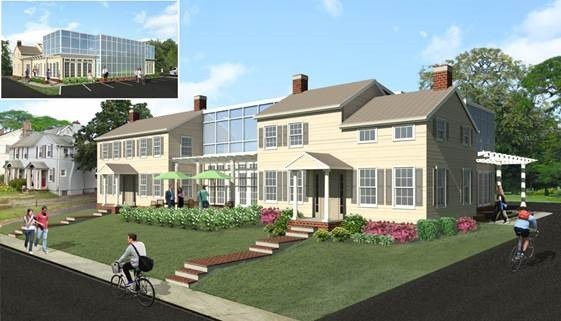Photo: Rendering of ForeFront's new headquarters in Fair Haven, Monmouth County. Photo Credit: Courtesy ForeFront