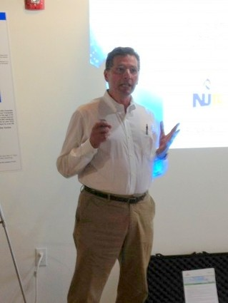 Photo: Frank Zammataro President and Cofounder of Rentricity presenting. Photo Credit: NJTC