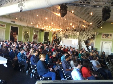 Photo: There was a full house at Porta for Asbury Agile 2014 Photo Credit: Courtesy Asbury Agile via Twitter