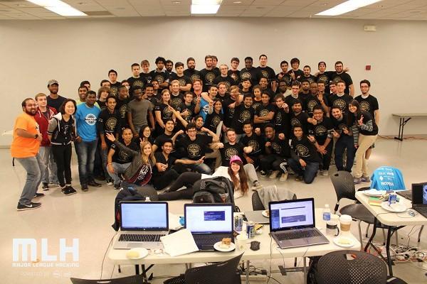 Photo: HackNJIT 2015 participants Photo Credit: Ankit Somani, courtesy Major League Hacking