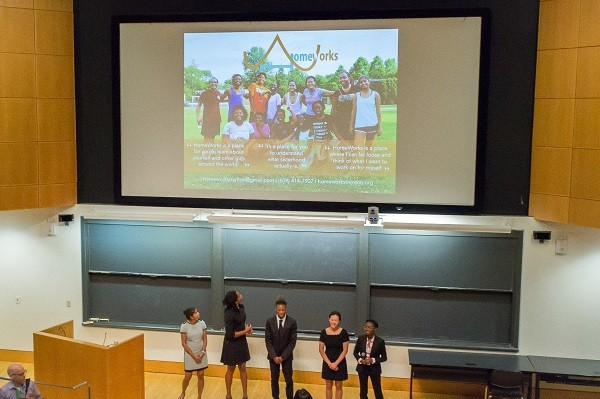 Photo: The Homeworks presentation Photo Credit: Kelsey Armstrong