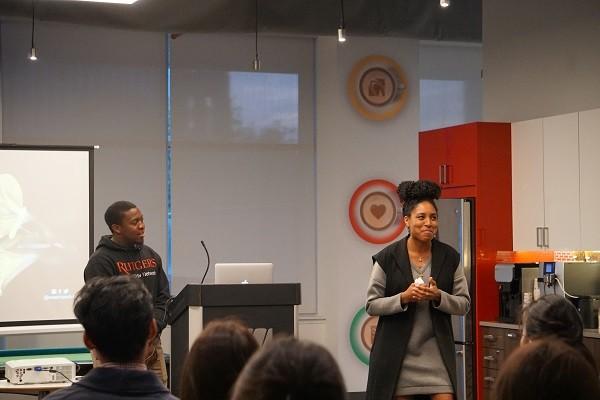 Photo: Pedul presenting at the IDT Venture Showcase Photo Credit: Courtesy IDT Corp.