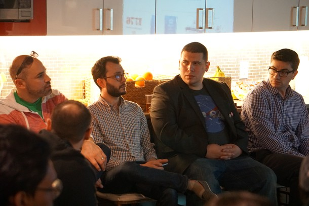 Photo: The panel of judges for the IDT Ventures Showcase event Photo Credit: Courtesy IDT Corp.