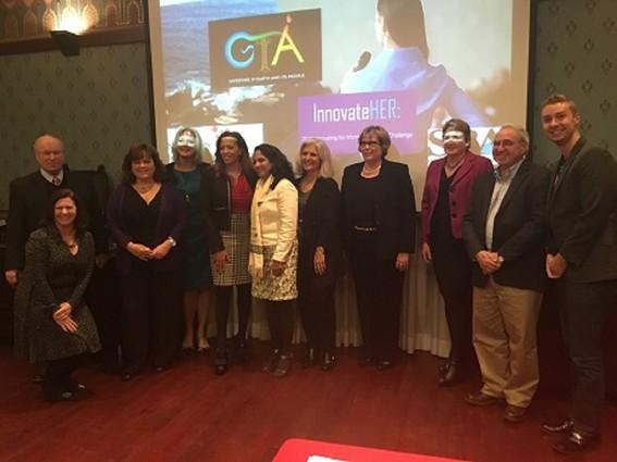 Photo: InnovateHER participants Photo Credit: Esther Surden