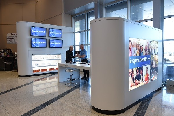 Photo: The Inspira Health+ kiosk Photo Credit: Courtesy Inspira