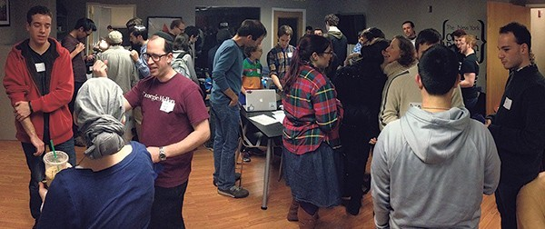 Photo: Jack Feldman, from Scotch Plains, organized a hackathon for Hanukka. Photo Credit: Courtesy NJ Jewish News