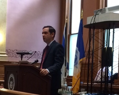 Photo: Jersey City Mayor Fulop. (File Photo) Photo Credit: Esther Surden