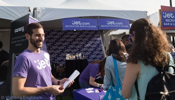 Photo: Jet Booth at the Propeller Innovation Festival Photo Credit: Victoria Engblom
