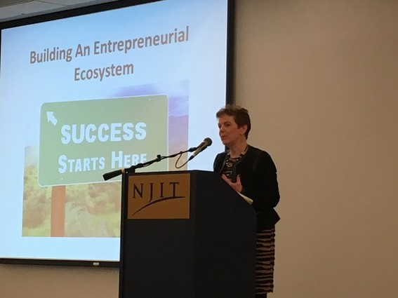 Photo: Judith Sheft was the keynote speaker at the GNEC Opportunities and Awards Breakfast. Photo Credit: Esther Surden