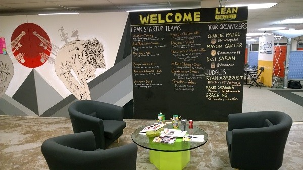 Photo: JuiceTank hosted a Lean Startup workshop. Photo Credit: John Critelli