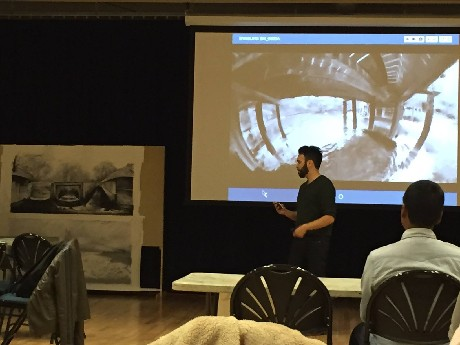 Photo: Steven Fragale on #watertoxicity  Photo Credit: Code for Princeton
