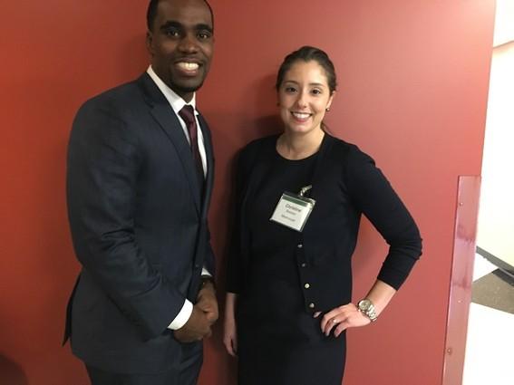 Photo: Donald Jones and Christine Barbieri, MediCoupe founders Photo Credit: Esther Surden