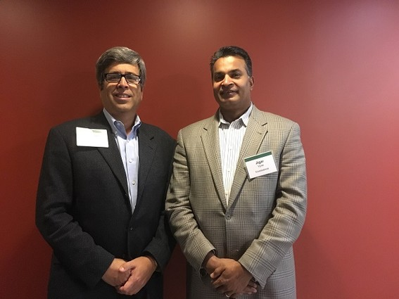 Photo: Michael Frank, COO and Jigar Vyas, CEO. of Invessence Photo Credit: Esther Surden