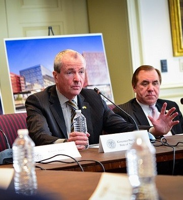 Photo: Gov. Murphy announces The Hub Photo Credit: Gov. Murphy Flickr