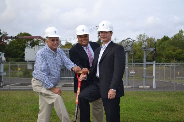 Photo: NJFX representatives at the groundbreaking for the new data center in Wall Photo Credit: Courtesy NJFX