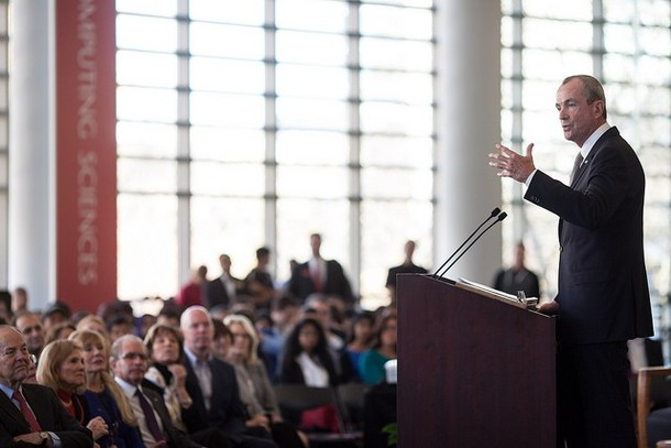 Photo: Phil Murphy at NJIT in 2014 [file photo] Photo Credit: Phil Murphy Flicker Page