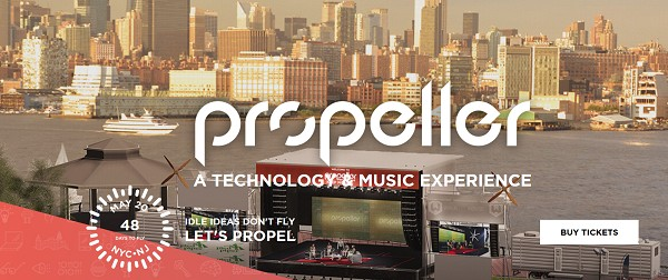 Photo: Propeller Fest is going to be held May 20 in Hoboken. Photo Credit: Courtesy www.propellerfest.com