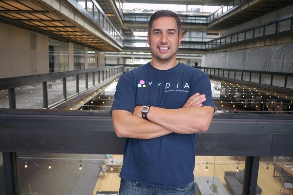 Photo: Roy LaManna is CEO of Vydia, one of the small companies to make NJBIZ's best places to work list. Photo Credit: Roy LaManna
