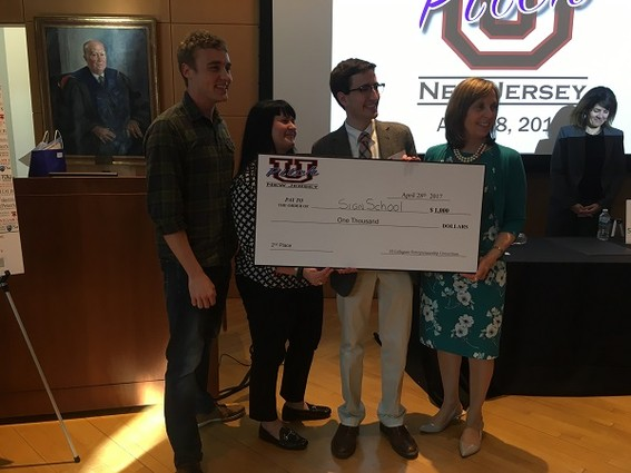 Photo: Colin Lualdi presented SignSchool for Princeton. Photo Credit: Esther Surden