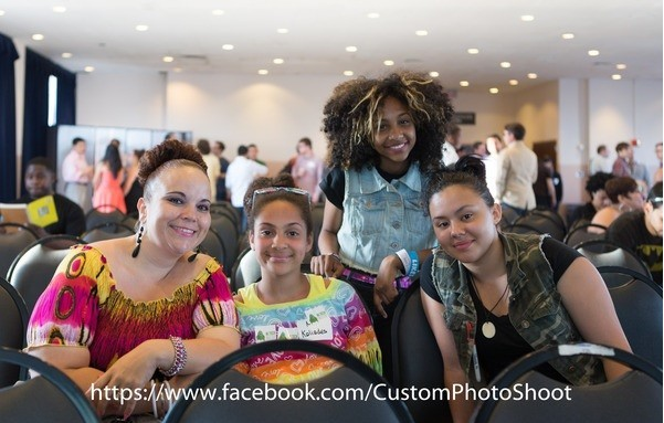 Photo: Student entrepreneurs from HOPES CAP wowed the NJ Tech Meetup Photo Credit: Danny@customphotoshoot.com