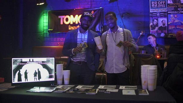 Photo: TOMO! Team cofounders Frank Ozoria and Alfonzo Smith Photo Credit: Courtesy TOMO!