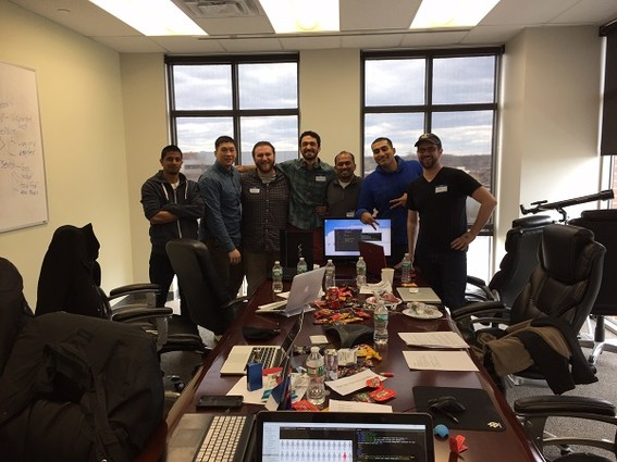 Photo: Team Blue Barracudas Photo Credit: Courtesy V12 Group