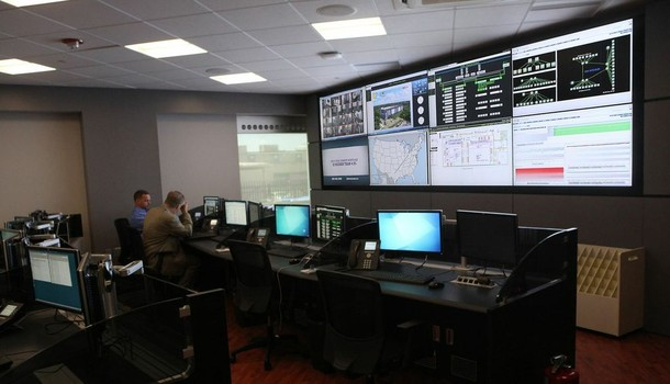 Photo: The Command Center in the Telx building Photo Credit: Telx