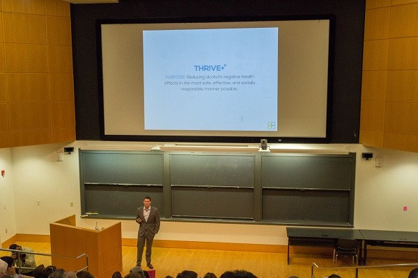 Photo: Thrive+ at Princeton eLab Demo Day Photo Credit: Kelsey Armstrong