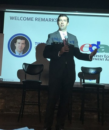 Photo: Tim Sullivan spoke to the New Jersey Tech Council at its Annual Meeting last week. Photo Credit: New Jersey Tech Council