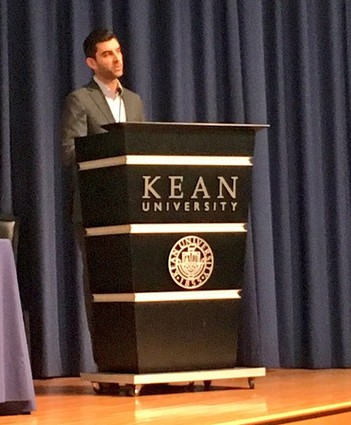 Photo: David Weinstein spoke at Kean University [file photo] Photo Credit: Esther Surden