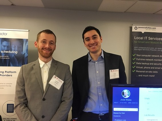 Photo: Connor Finnerty and Craig Limoli of Wellsheet Photo Credit: Esther Surden