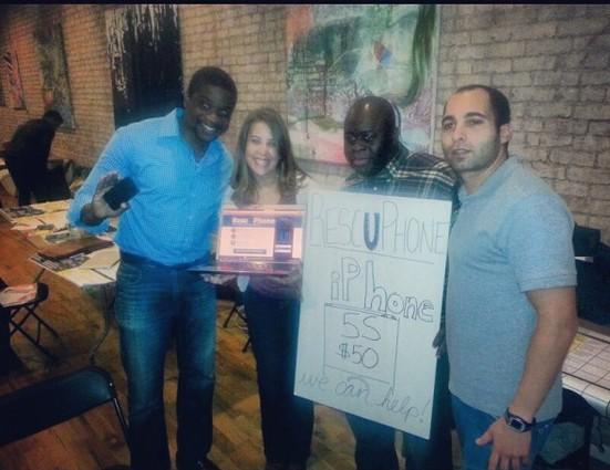 Photo: The winning RescUPhone team. Photo Credit: Chike Uzoka