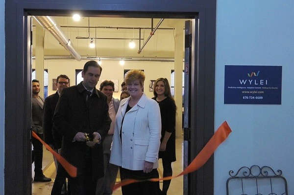 Photo: The Wylei ribbon cutting with Mayor Steven Fulop and Meg Columbia-Walsh