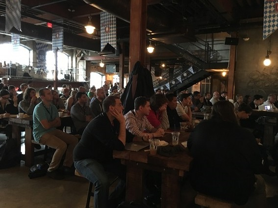 Photo: Audience at Asbury Agile 2015 Photo Credit: Esther Surden