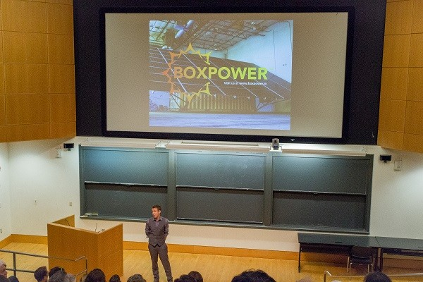Photo: Boxpower at Princeton eLab Demo Day Photo Credit: Kelsey Armstrong